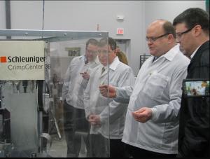 Congressman Tom Reed visits Badger Technologies