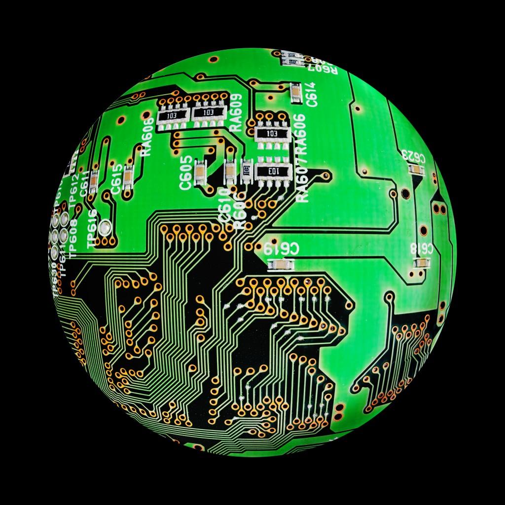 PCB globe